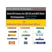 Bank PO Maths By State Bank Officer - 9 HD DVD Course(Hindi Version)