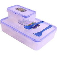 4 Way Lock Seal Airtight Tiffin Carrier Lunch Box 850