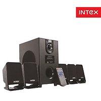 Intex IT-501 SUF 5.1 Multimedia Speakers Home Theater With Usb/mmc & FM Radio