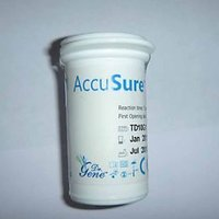 50 Test Strips Dr GENE Accu Sure Blood Sugar Glucose Strip Lowest Price