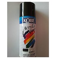 Kobe Spray Paint For Car Bike Metal Wall 400ml-Black