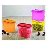 Tupperware With In Reach Cannister Set Of 4