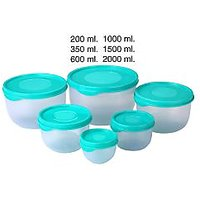 Store & Serve Containers Set Of 6