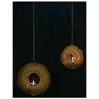 Hanging Tea Light Holder - Set Of 2
