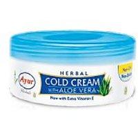 Ayur HERBAL COLD CREAM With Aloe Vera 80gm  Pack Of 5