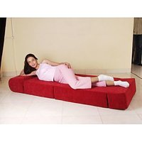 Sofa Cum Bed 2.5Fx 6 F Bed- No Air -No Wood-No Frame (Only Foam) Folding Bed