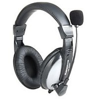 Kanen KM-580 3.5mm Jack On-ear Style Stereo Headphone With Microphone