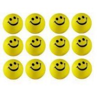 Smiley Balls 12 For Car Stress Relieve Punching Ball