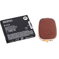 MOTOROLA BATTERY BP6X FOR DROID A855 PRO A957 VERIZON CLIQ MB200 CLIQ2 DEXT 220 With FREE  Innov8tronics S2PH101 USB Portable Power Supply