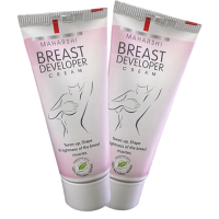 Maharshi Breast Developer Cream (2 X 50g.) - For Breast Enhancement