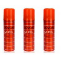 Jovan Musk Deodorant Spray Combo (Pack Of 3)-  For Men 200ml Each - 72318306