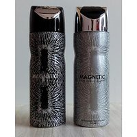 Combo Of 2 Deodorants (Deo) Magnetic + Magnetic Argent For Men 200 Ml Each