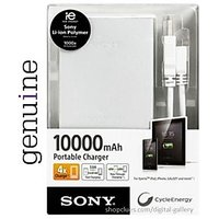 SONY Cycle Energy Universal 10000 MAH USB Extended Battery Pack Power Bank