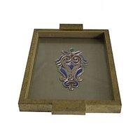 Bodhitree Attractive Blue Couture Box Tray