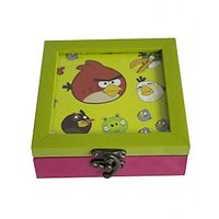 Bodhitree Angry Birds GreenBlue Multi Purpose Box