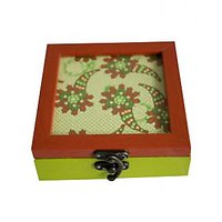 Bodhitree Orange And Green Multi Purpose Box