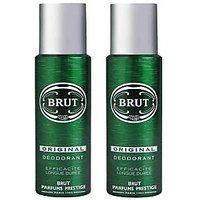 Brut Original Deodorant 200ml (for Men) (Pack Of 2)