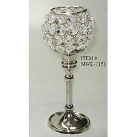 Crystal Globe Tealight Votive Candle Holder Home Decoration Wedding Gift - 72346376