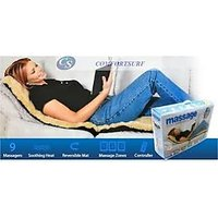 Full Body Massager Massage Mat Bed With Soothing Heat Remote Control