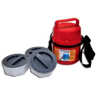 Power Plus Electric Lunch Box - 3 Plastic Food Grade Containers, Heat Resistant.