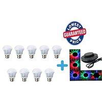 Soy Impulse 3w Set Of 9 LED Bulbs With Little Sun LED Light Free