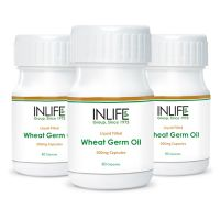 INLIFE Wheat Germ Oil Capsules(3-Pack)