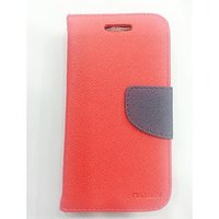 BEST QUALITY MERCURY,DIARY,FLAP COVER FOR SONY XPERIA L - RED