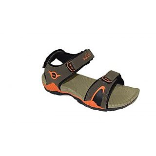 Sandals / Floaters - Mens Floaters - WSLHUMMER2 - Orange Color