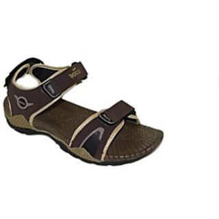 Sandals / Floaters - Mens Floaters - WSLHUMMER2 - Brown Color