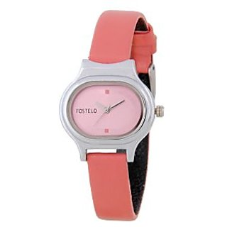 Fostelo Pink Women'S Wrist Watches Fst-01