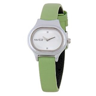Fostelo Silver Women'S Wrist Watches Fst-02
