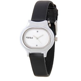 Fostelo Silver Women'S Wrist Watches Fst-05
