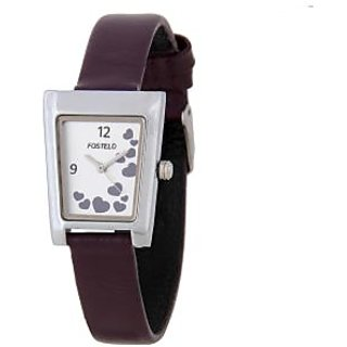 Fostelo Silver Women'S Wrist Watches Fst-06