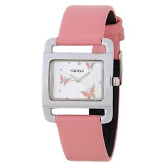 Fostelo Silver Women'S Wrist Watches Fst-10