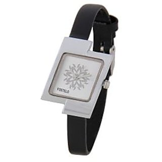 Fostelo Silver Women'S Wrist Watches Fst-13