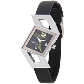 Fostelo Black Women'S Wrist Watches Fst-20