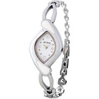 Fostelo White Women'S Wrist Watches Fst-23