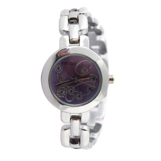 Fostelo Purple Women'S Wrist Watch Fst-42