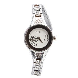 Fostelo White Women'S Wrist Watch Fst-58