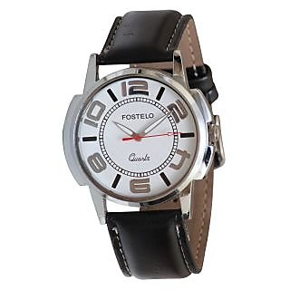 Fostelo White Men'S Wrist Watch Fst-83