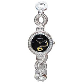 Fostelo Black Women'S Wrist Watch Fst-152