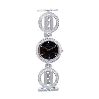 Fostelo Black Women'S Wrist Watch Fst-156