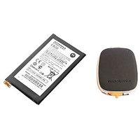 1750mAh Genuine OEM Battery For Motorola Droid Razr XT910 EB20 + Innov8tronics S2PH101 USB Portable Power Supply