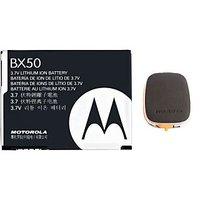 MOTOROLA BX50 BX-50 Battery For RAZR2 V8 V9 MOTO Z9 SNN5807A + Innov8tronics S2PH101 USB Portable Power Supply