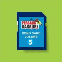 Persang Karaoke Song Card Volume-5