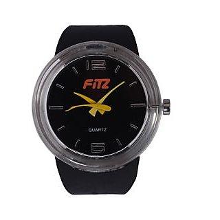 Fitz Black/Yellow Analog Watch 0YW