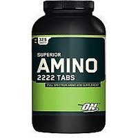 Optimum Nutrition Superior Amino 2222 Tablets 320 Count-MUK