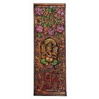 Beautiful Wall Hanging With Idol Of Ganesha And Swastika An Indian Handicraft