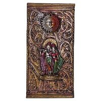 Handcrafted Art Wall Decorative Hanging Radha Krishna And Sun