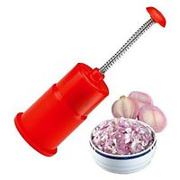 Hand Press Onion Chopper Mincer With Free 1 Knife